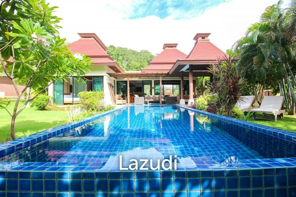 Luxury 2 Bed Pool Villa At Panorama Khao Tao (Freehold)