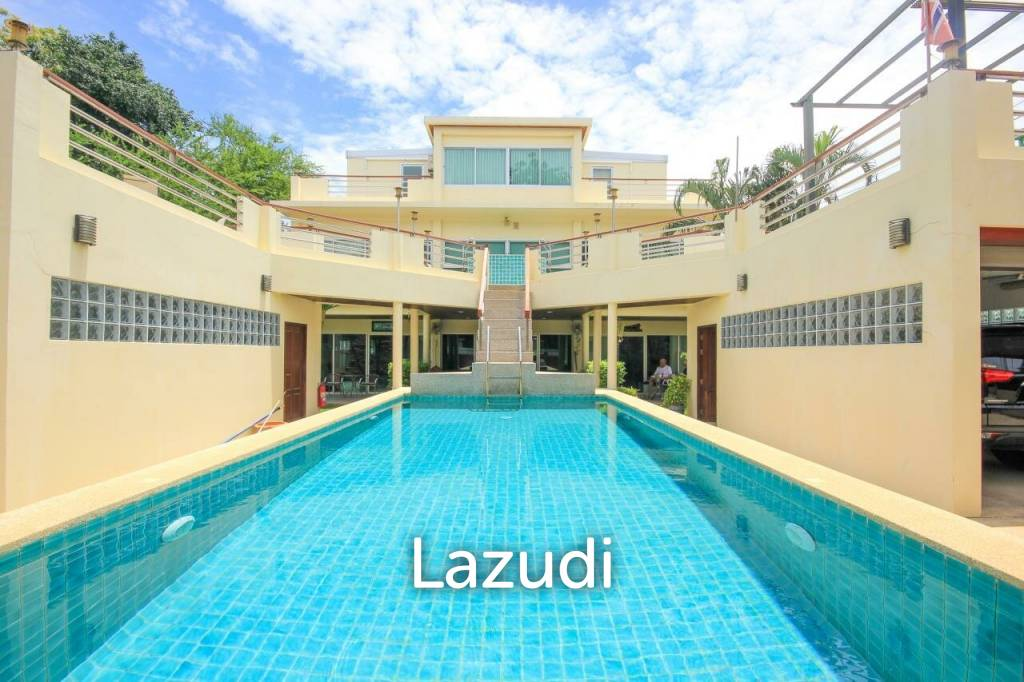 Large 12 Bed Pool Villa / Guest House 1 Minute From Cha Am Beach