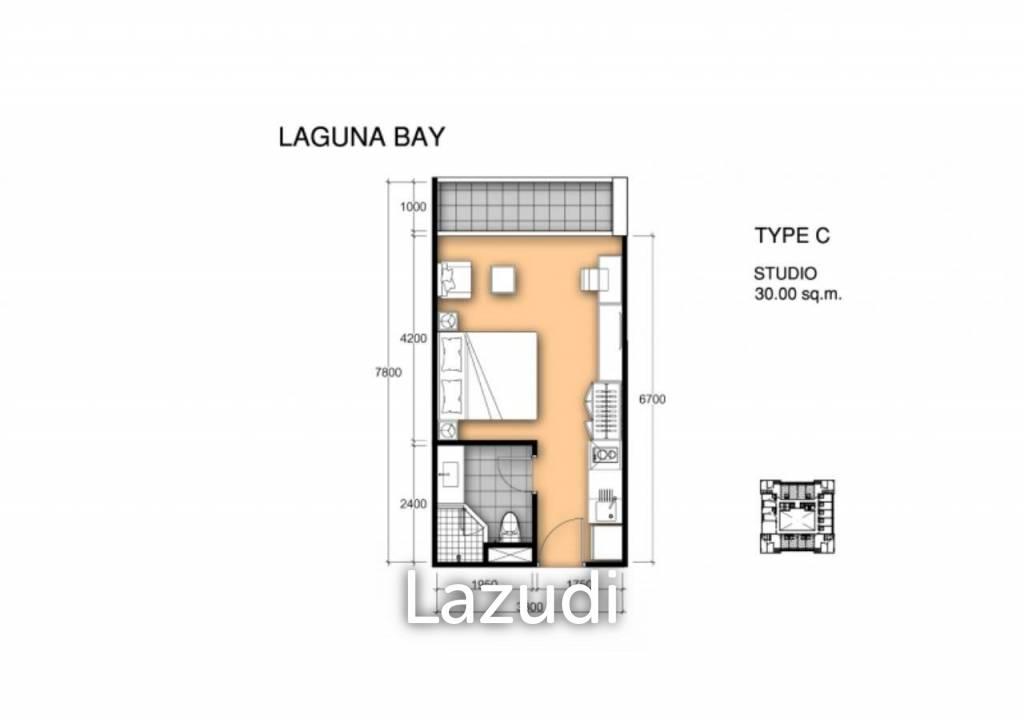 Studio In Foreign Quota At Laguna Bay 1 - Pratamnak Soi 5