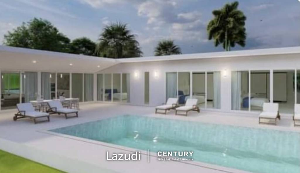 PALM HILLS RESIDENCES : 2 x 4 Bed Pool Villas on Golf Course