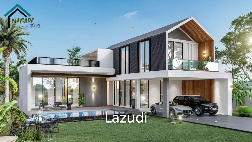 New Modern 3 Bed Pool Villa Project Narada - Paknampran/ Pranburi Close To Beach
