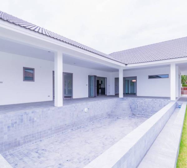 WIJITRA VILLAGE : Brand New quality 3 Bed modern pool Villa.